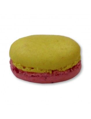 Macaron passion framboise
