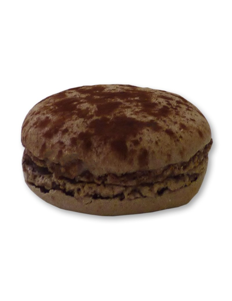 Macaron chocolat ganache