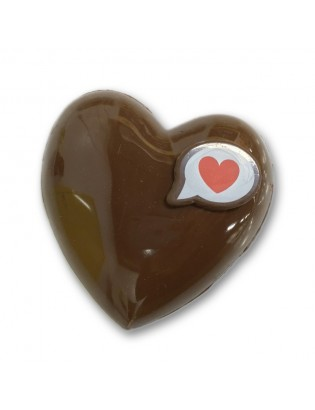 Coeur chocolat noir