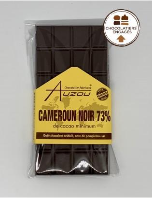 "Tablette Noir Cameroun ""Chocolatiers engagés"""