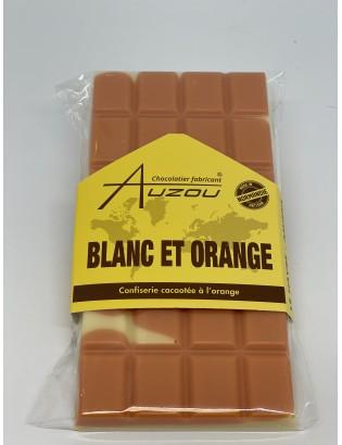 Tablette blanc et orange